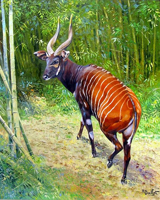 08- Toile Oryx Algazelle (100x80)